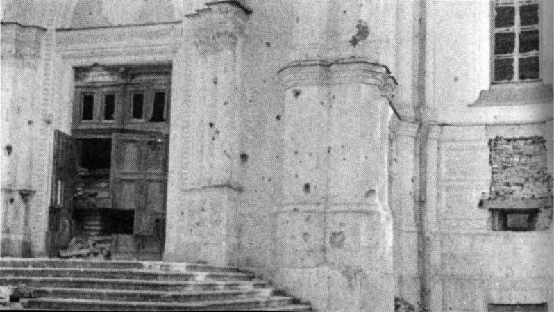 1941 вход в собор