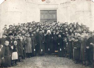 Митрополит Вениамин в Павловском соборе