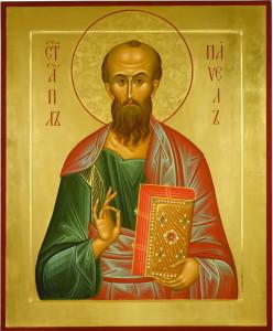 Храмовая икона св.ап.Павла. Гатчинский Павловский кафедральный собор